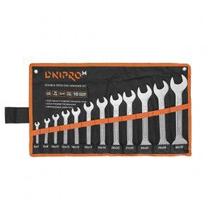 Набір ключів ріжкових Dnipro-M 12 шт