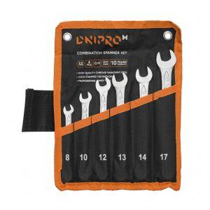 Набір ключів Dnipro-M 6 шт (8, 10, 12, 13, 14, 17 мм)