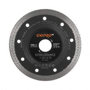 Алмазний диск Dnipro-M 125 Extra-Ceramics