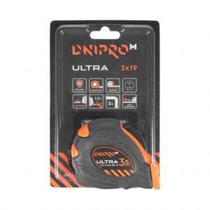 Рулетка Dnipro-M Ultra 3 м*19 мм
