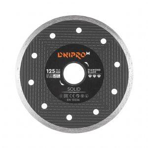 Алмазний диск Dnipro-M 125 Solid