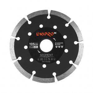 Алмазний диск Dnipro-M 125 Segment