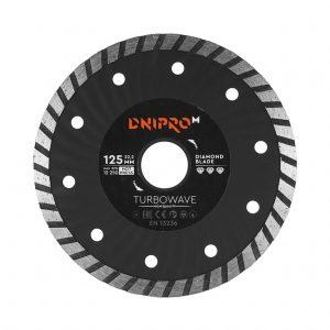 Алмазний диск Dnipro-M 125 Turbowave