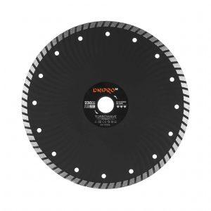 Алмазний диск Dnipro-M 230 Turbowave