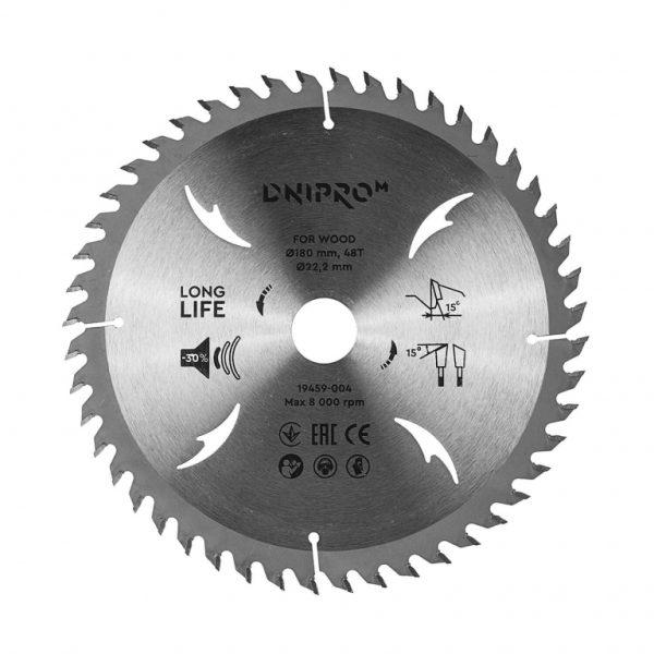 Пильний диск Dnipro-M 180 48Т