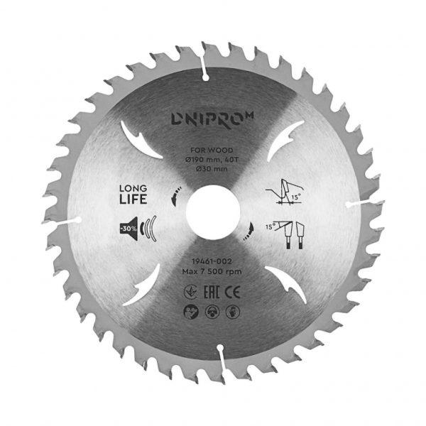 Пильний диск Dnipro-M 190 20 40Т