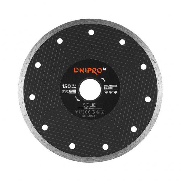 Алмазний диск Dnipro-M 150 Solid