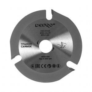 Пильний диск Dnipro-M 125 22.2 3Т