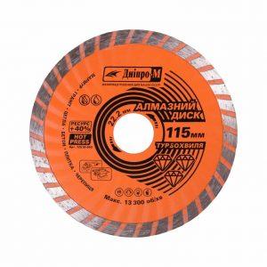 Алмазний диск Дніпро-М 115 турбохвиля
