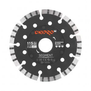Алмазний диск Dnipro-M 115 Segment