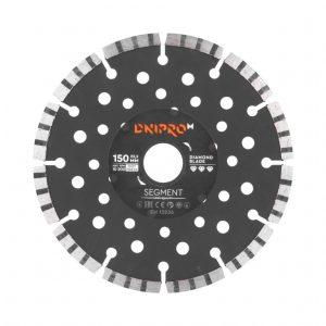 Алмазний диск Dnipro-M 150 Segment