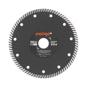 Алмазний диск Dnipro-M 150 Turbowave