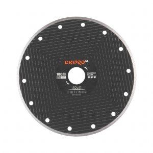 Алмазний диск Dnipro-M 180 Solid