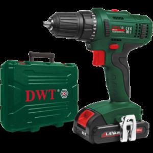 Акумуляторний шуруповерт DWT ABS-18 L-2 BMC