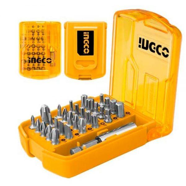 Набір біт із тримачем INGCO AKSD08301